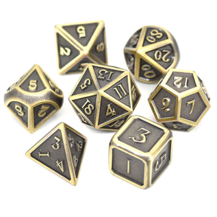 Goblin Dice Bronze Metal Dice