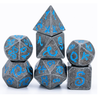 Goblin Dice Blue Dragon Metal Dice