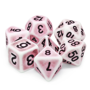 Goblin Dice Ancient Pink Dice Set