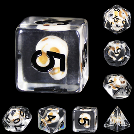 Goblin Dice Skull Check Dice Set