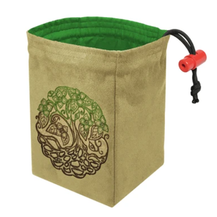 Twisted Tree Embroidered Dice Bag