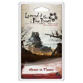 Fantasy Flight Games Legend of the Five Rings: Honor in Flames