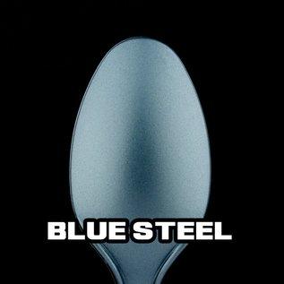 Turbo Dork Blue Steel Metallic Acrylic Paint 20ml Bottle