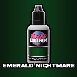 Turbo Dork Emerald Nightmare Metallic Acrylic Paint 20ml Bottle