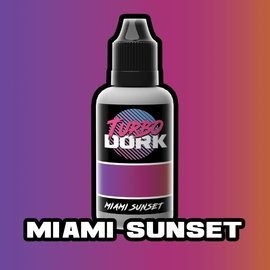 Turbo Dork Miami Sunset Colorshift Acrylic Paint 20ml Bottle