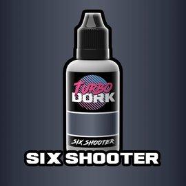 Turbo Dork Six Shooter Metallic Acrylic Paint 20ml Bottle