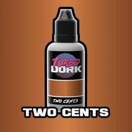 Turbo Dork Two Cents Metallic Acrylic Paint 20ml Bottle