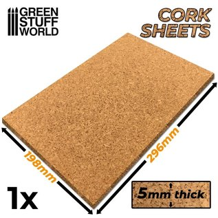 Green Stuff World Cork Sheet 5mm