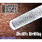 Green Stuff World Dutch Bricks Rolling Pin