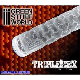 Green Stuff World TripleHex Rolling Pin