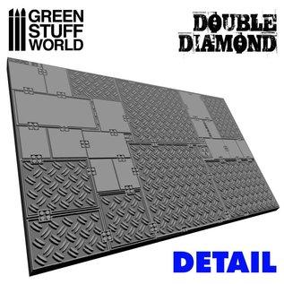 Green Stuff World Double Diamond Rolling Pin