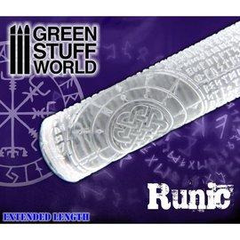 Green Stuff World Runic Rolling Pin