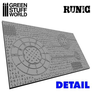 Green Stuff World Runic Rolling Pin