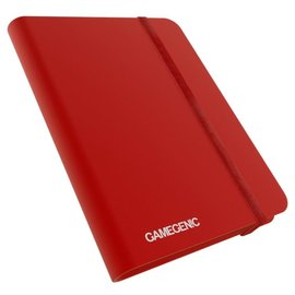 gamegenic Gamegenic Album Red 8 Pocket
