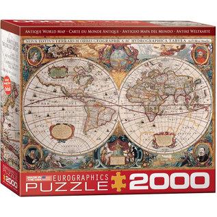 Eurographics Antique World Map