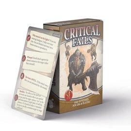Critical Fail Deck for GMs (5E)