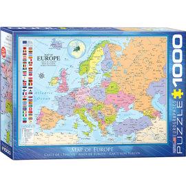 Eurographics Map of Europe