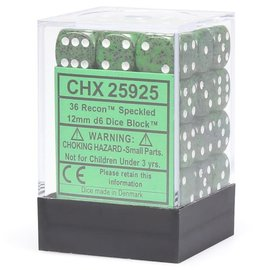 Recon Speckled 12mm D6 Dice Block (36)