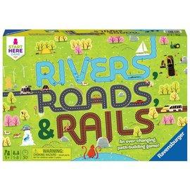 Ravensburger Rivers, Roads, and Rails