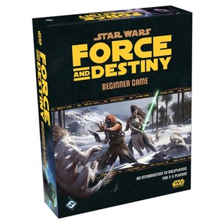 Fantasy Flight Games Force and Destiny: Beginner Game