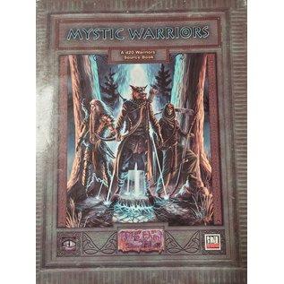 Mystic Eye Games D&D 3.0 Mystic Warriors Sourcebook