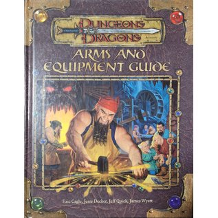 D&D 3.0 Arms and Equipment Guide