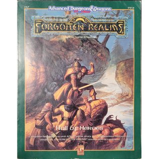 D&D 2.0 Forgotten Realms Hall of Heroes