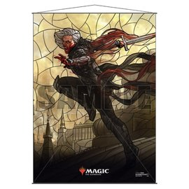 Sorin Stained Glass Wall Scroll