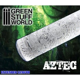 Green Stuff World Aztec Rolling Pin