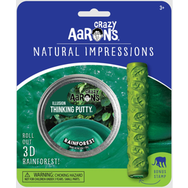 Crazy Aaron's Thinking Putty Rainforest Thinking Putty