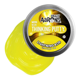 Crazy Aaron's Thinking Putty Lightning Rod Thinking Putty
