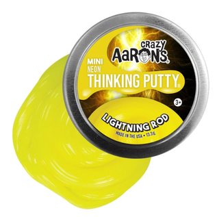 Crazy Aaron's Thinking Putty Lightning Rod Thinking Putty