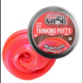 Crazy Aaron's Thinking Putty Neon Flash Thinking Putty