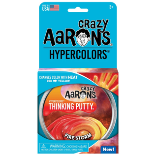 Crazy Aaron's Thinking Putty Fire Storm Thinking Putty