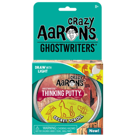 Crazy Aaron's Thinking Putty Secret Scroll Thinking Putty
