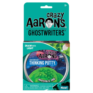 Crazy Aaron's Thinking Putty Invisible Ink Thinking Putty