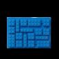 LEGO 4100 LEGO Iconic Ice Cube Tray - Bright Blue
