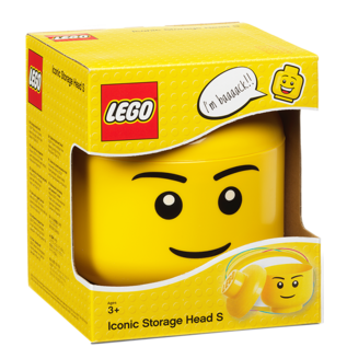 LEGO 4031 LEGO Storage Head Small - Boy