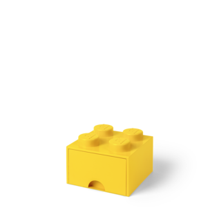 LEGO 4005 LEGO Brick Drawer 4 - Bright Yellow
