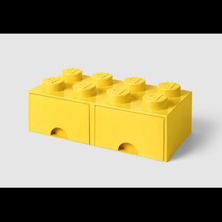 LEGO 4006 LEGO Brick Drawer 8 - Bright Yellow