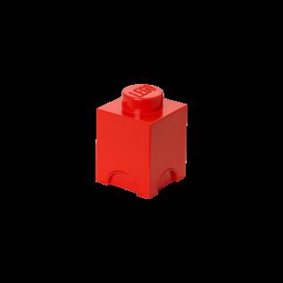 LEGO 4001 LEGO Storage Brick 1 - Bright Red