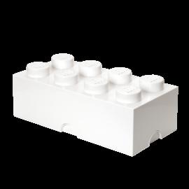 LEGO 4004 LEGO Storage Brick 8 - White