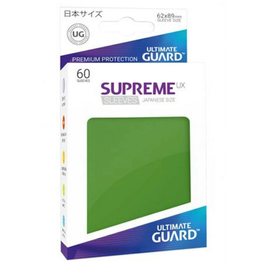 Supreme UX Green Sleeves 60ct (Small)