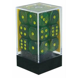 Maple Green Yellow Borealis 16mm D6 Block (12)