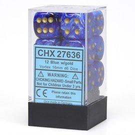 Blue Gold Vortex 16mm D6 Block (12)