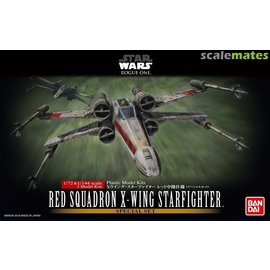 Red Squadron X-Wing Fighter 1/27 & 1/144