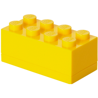 LEGO 4012 LEGO Mini Box 8 - Bright Yellow