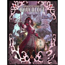 Van Richten's Guide to Ravenloft Hobby Cover (Preorder 5/18)