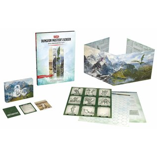 Dungeon Master`s Screen Wilderness Kit