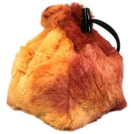 Red King Co Fireball Spellbound Fur Dice Bag